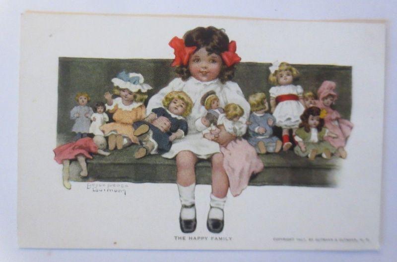 Kinder, Puppen, Die Glückliche Familie,  1907, Bessie Pease ♥ (72076)