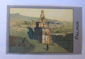 Palmin,  Serie 125, Bild 3, Heldenserie VII. Heldengräber ♥ (1811)