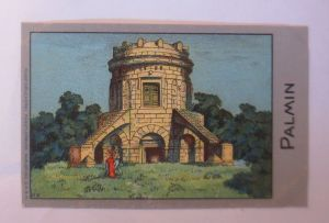 Palmin,  Serie 125, Bild 6, Heldenserie VII. Heldengräber ♥ (1792)