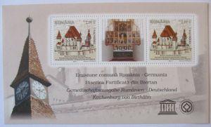 Rumänien, Block 514 postfrisch, UNESCO Welterbe (49552)