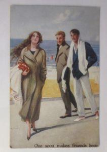 Kinder, Mode, Zylinder, Krankenbett,  1907, Fotokarte  ♥ (1330)