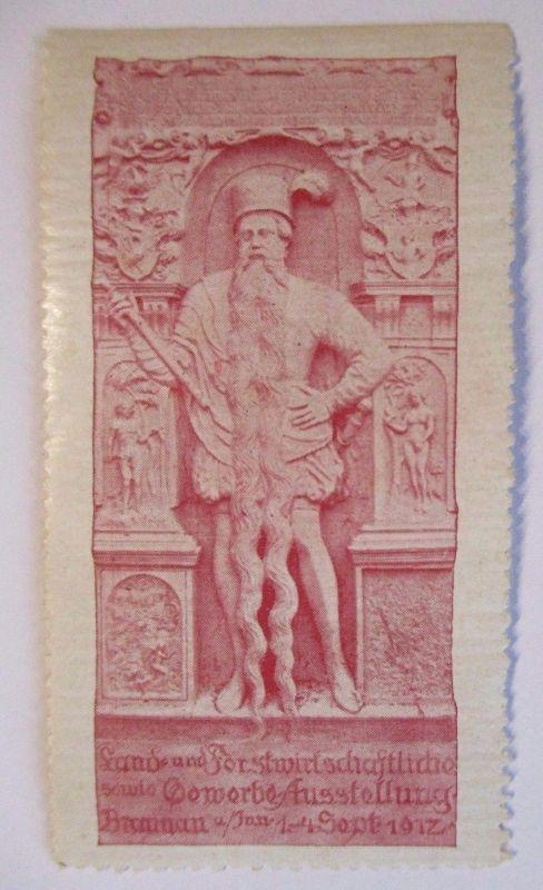 D.Reich, Land - und Forstwirtschaft. Gewerbeausstellung Braunau 1917 (49491)