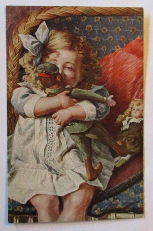 Kinder, Mode, Soldaten-Puppe, Spielzeug, Erste Liebe, 1916 ♥ (36211)