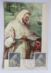 Spanien, Maximumkarte, San Petro Nolasco,  1963 ♥ (4453)