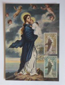Spanien, Maximumkarte,  Nuestra Senora de Europa, 1963 ♥ (4373)