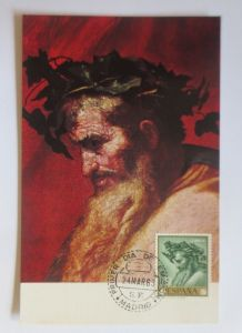 Spanien, Maximumkarte, Ribera, El Triunfo de Baco, 1963 ♥ (4343)