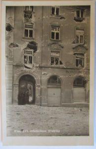 Österreich, Februar Kämpfe Revolte 1934, Wien Arbeiterheim (61750)