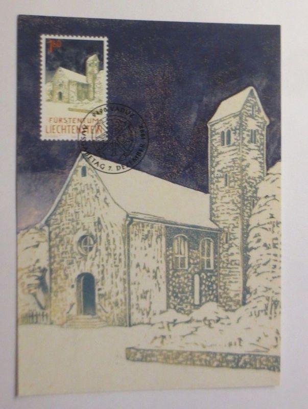 Maximumkarte Weihnachten Kirche 1992 ♥  (9197)