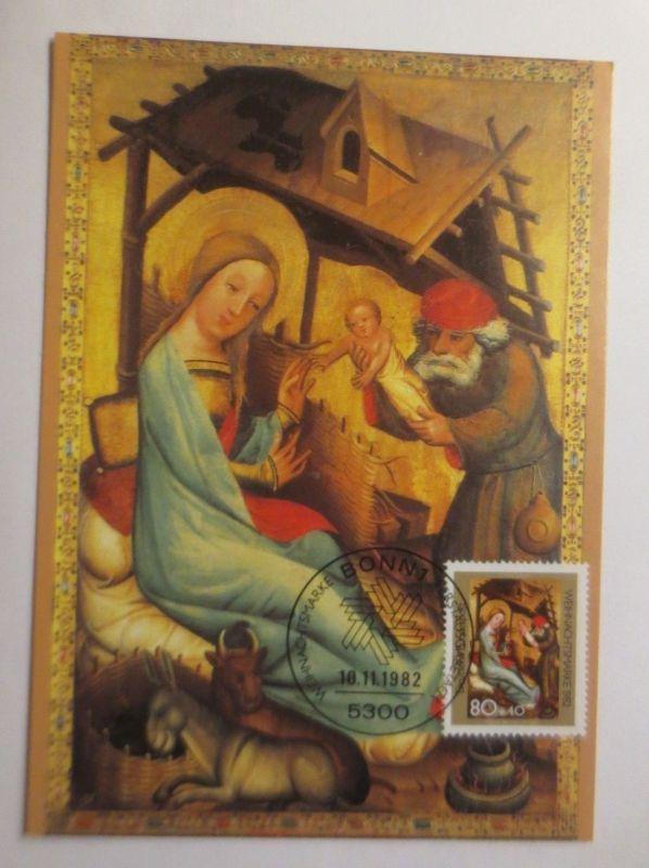 Maximumkarte  Weihnachtsmarke Geburt Christi 1982 ♥  (4089)