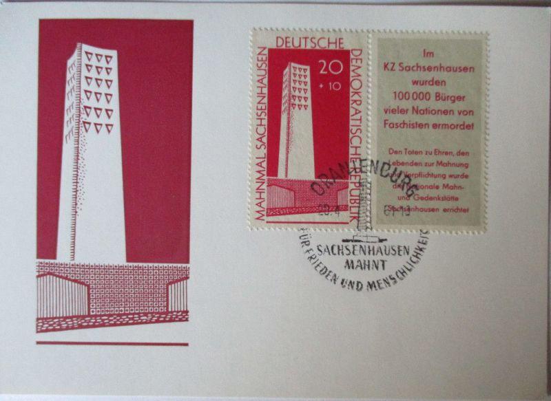 DDR, Mahn und Gedenkstätten, Sachsenhausen 1961 (49789)