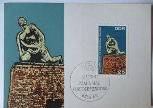DDR, Mahn und Gedenkstätten, Fort de Breendonk in Belgien (59049)