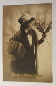 Glückwunschkärtchen, Oblaten, Blumen, Präkekarte, 1900 ♥ (23898)