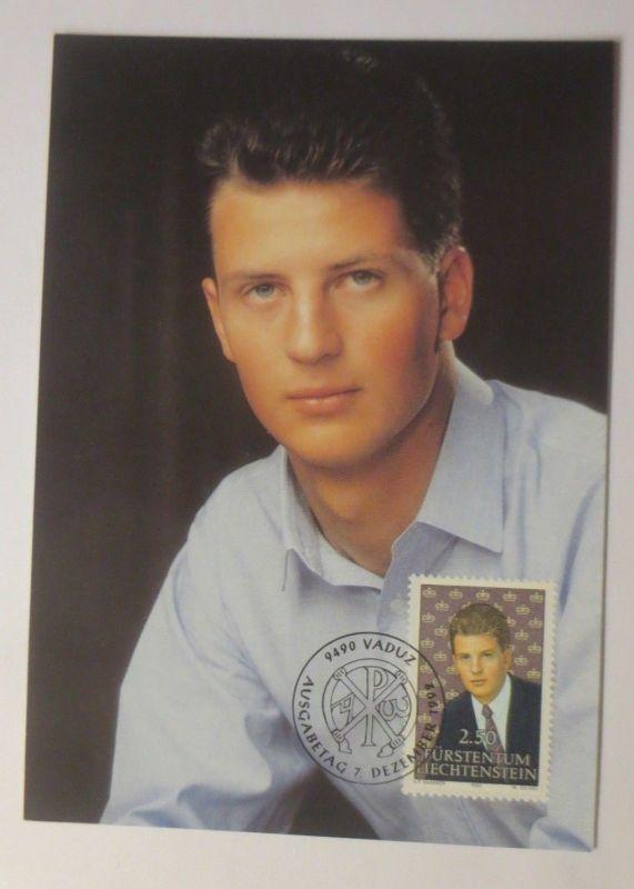 Maximumkarte Erbprinz Alois von Liechtenstein  1992 ♥(41836)