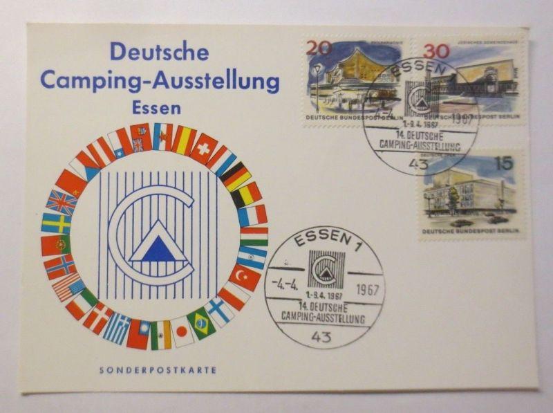 Deutsche Camping Ausstellung Essen 1967, Sonderkarte (37137)