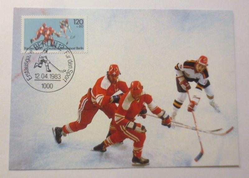 Maximumkarten  Für den Sport Eishockey 1983 ♥ (484)