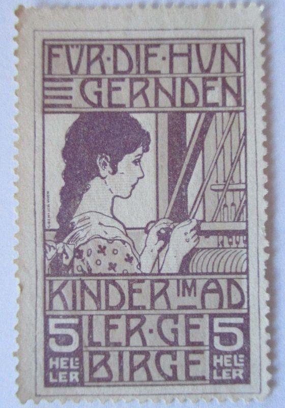 Österreich, Für die hungernden Kinder im Adlergebirge, ca. 1910 (49175)