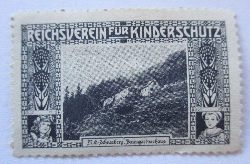 Österreich, Reichsverein für Kinderschutz, Schneeberg N.Ö. ungebraucht (37471)