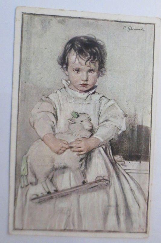 Kinder, Spielzeug, Die kleine Helga, 1920, Wiener Kunst ♥ (595)