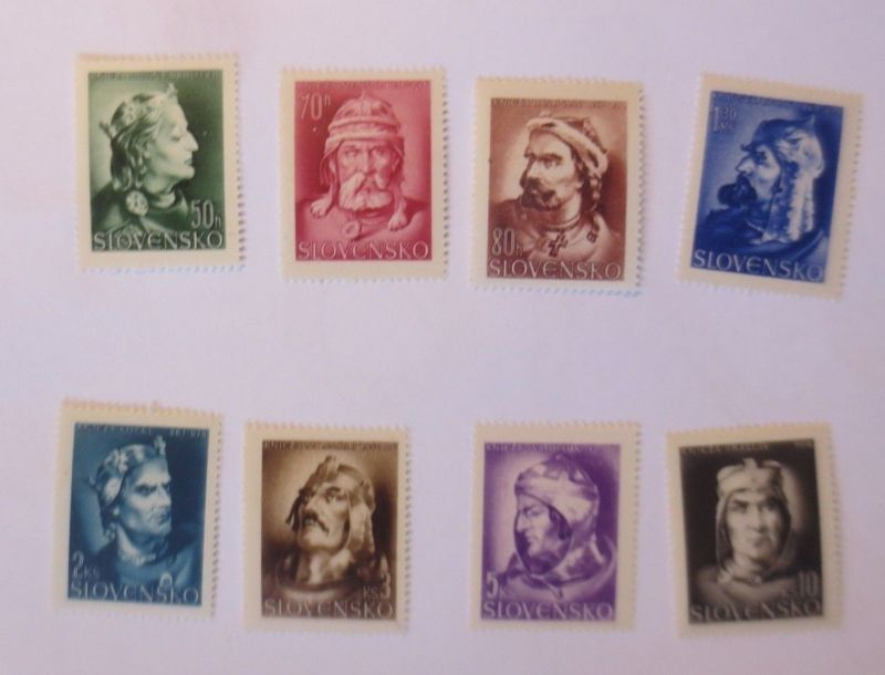 Slowakei, Slovensko,  MiNr 134-41 Fürsten  xx      ♥  (6269)