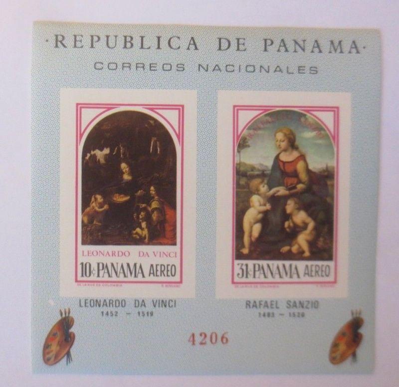 Panama-Block-Malerei-Aereo-Lenardo da Vinci-Rafael Sanzig ♥ (6213)