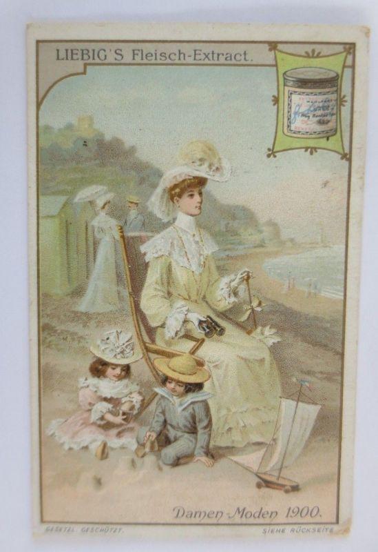 Liebigbilder, Damen Moden 1900   ♥  (67727)
