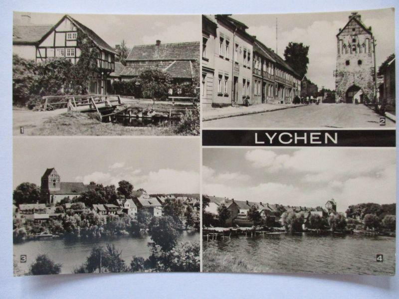 Lychen, Mehrbildkarte, ca. 60er Jahre (37921)