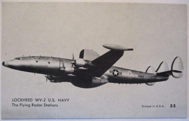 Flugzeuge USA, ca.50er Jahre, Lockheed WV-2 Flying Radar Station (28337)