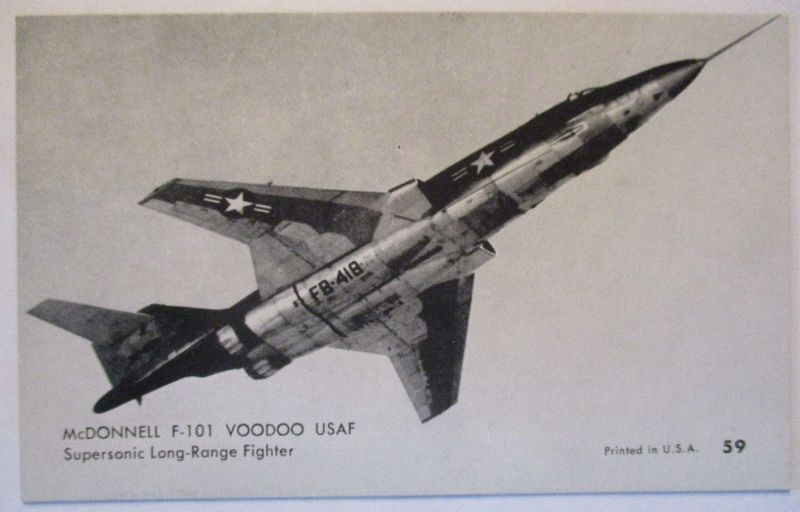 Flugzeuge USA, ca.50er Jahre, McDonnell F-101 Voodoo (30680)