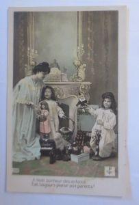 Weihnachten, Kinder, Spielzeug, Puppe, Kasper,  1912 ♥ (72357)