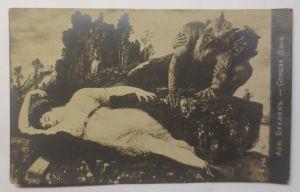 Künstlerkarte, Mythologie,  Arnold Böcklin,  1910 ♥ (40470)