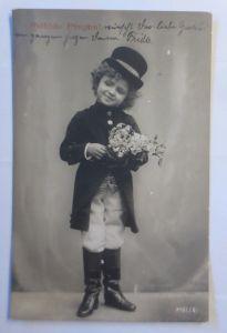 Pfingsten, Kinder, Mode, Hut, Blumen,   1907 ♥ (72346)