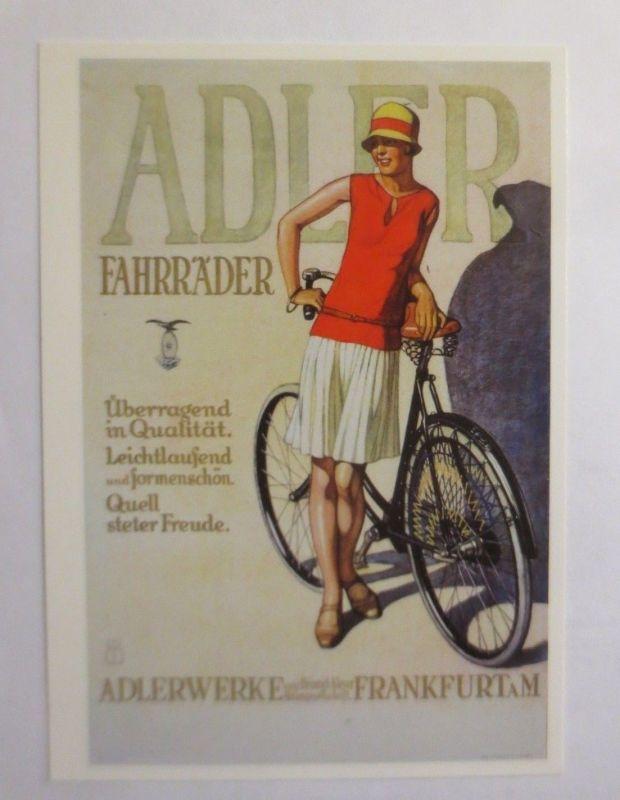 Reklame, Fahrrad, Adler, Adlerwerke Frankfurt a. M. 1980  ♥ (72267)