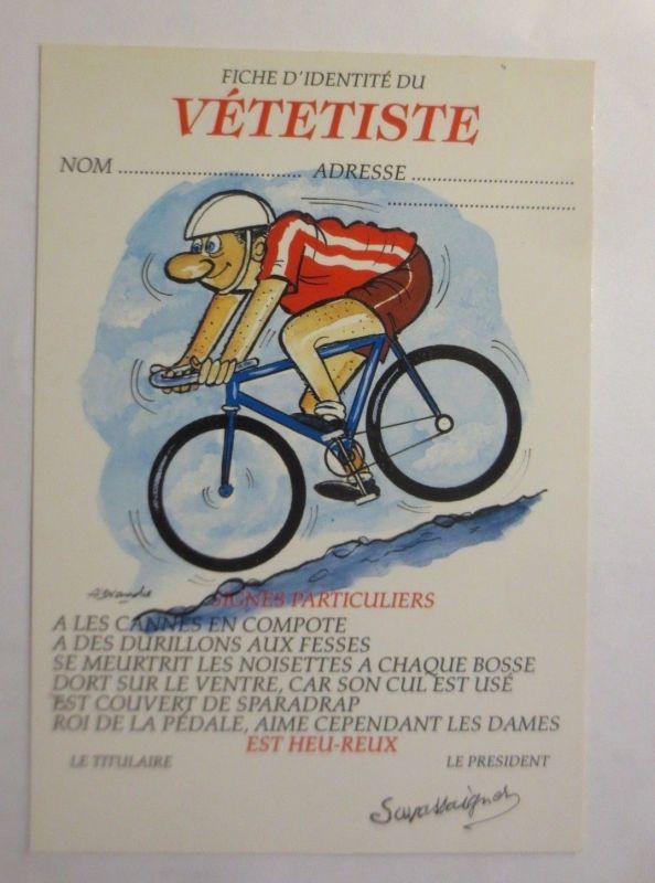 Reklame, Fahrrad, Männer, Radfahren,  1980  ♥ (72266)