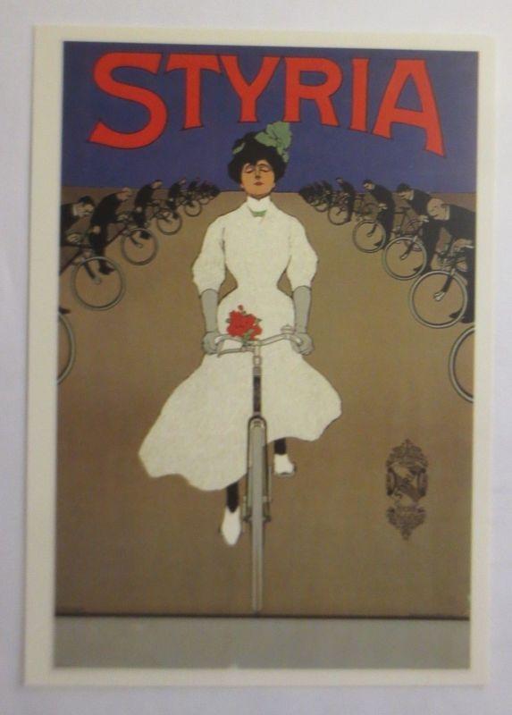 Reklame, Fahrrad, Styria Fahrrad Werke,  1980  ♥ (72265)