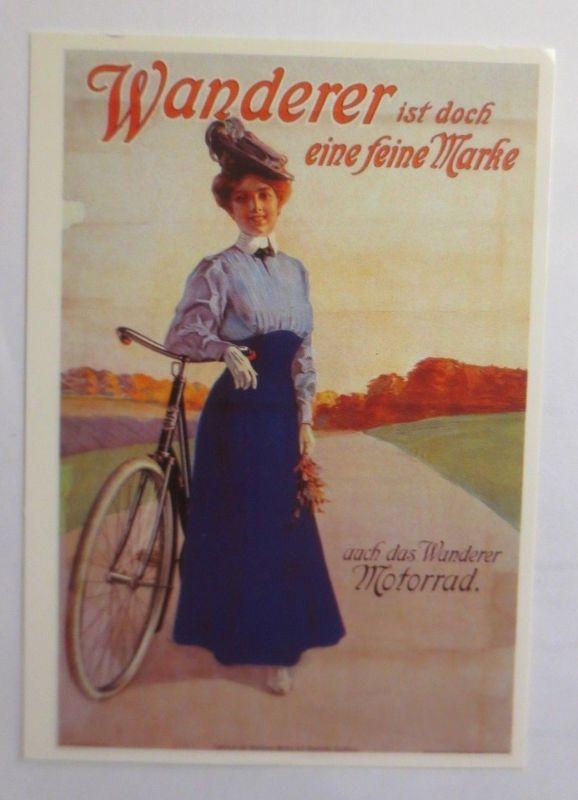 Reklame, Fahrrad, Wanderer ist doch eine feine Marke,   1980  ♥ (72264)