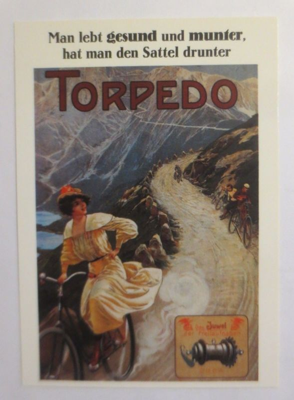 Reklame, Fahrrad, Torpedo,  1980  ♥ (72262)