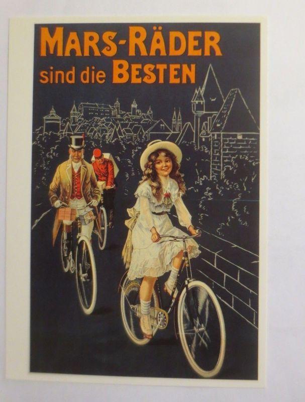 Reklame, Fahrrad, Mars-Räder sind die Besten, 1980  ♥ (72261)