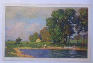 Künstlerkarte, Landschaft, Fried Pfeifer Wien, 1916, Meissner & Buch ♥ (18193)