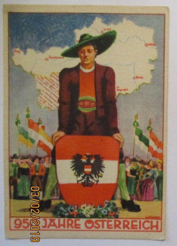 950 Jahre Österreich, Sonderkarte 1946 (59442)