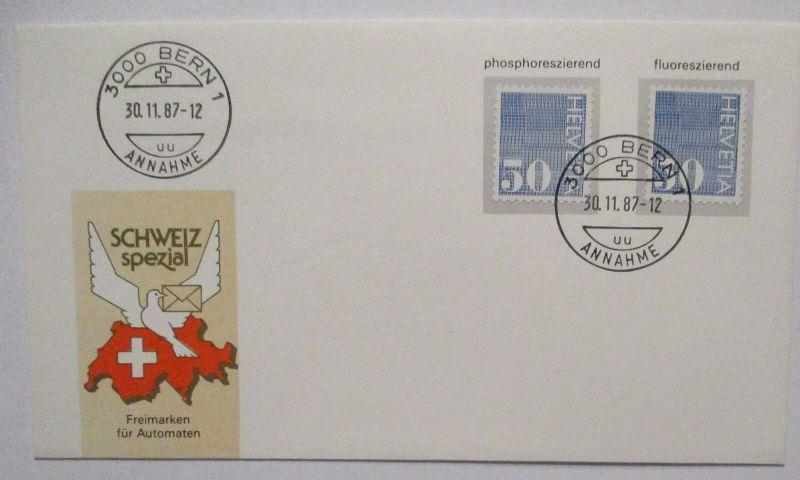 Schweiz Nr. 935 ya und yb zusammen auf FDC 30.11.1987 (11824)