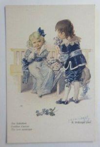 Kinder, Mode, Der Liebesbote  1910, E. Reckziegel ♥ (21326)