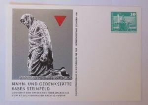 DDR Privatganzsache Mahn und Gedenkstätte Raben Steinfeld 1980 ♥ (72541)