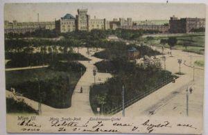 Wien Maria-Josefa Park Landstrassen-Gürtel, Verlag Schindler (21763)