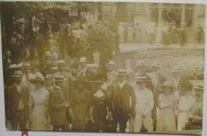 Männer und Frauen, Fotokarte 1913 (41309)