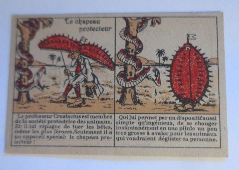 Sammelbild, Aux Deux Passages, Le Chapeau Protecteur,  1900 ♥