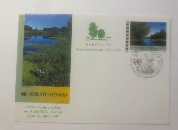 Briefmarken  Naturpark Vereinte Nationen UNPA- Sonderumschlag 1999 ♥ (31646)