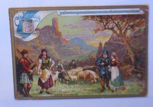 Liebig,  Gebirgsvölker  in Schottland, 1900 ♥