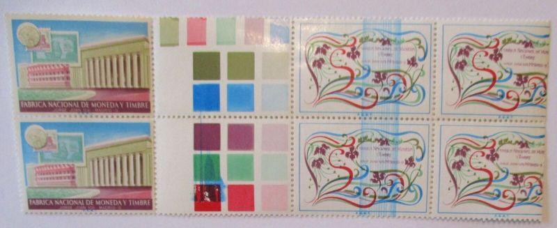 Spanien fabricia nacional de moneday timbre, Probedrucke Proof xx (21768)