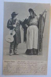 Zirkus, Clown, Komiker, Sängers Fluch,   1903  ♥ (49856)