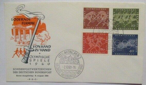 Olympia 1960 Rom Italien Brief Deutschland 66371 Nr 66371